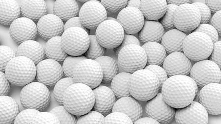 hitta golfbollar i mängder
